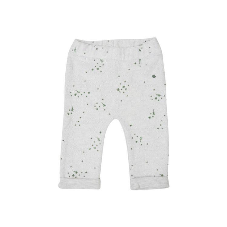 301ff035ec Puffete Pantalone in felpa grigio melange con fantasia stelle | Moda ...