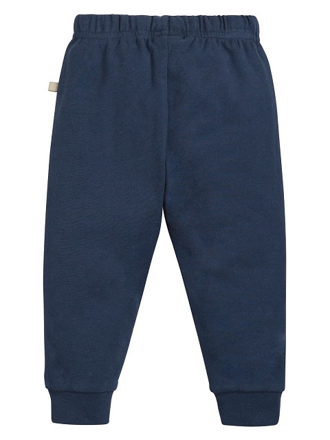 Long trousers blu orgnic cotton