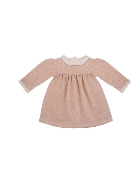 Newborn organic cotton dress