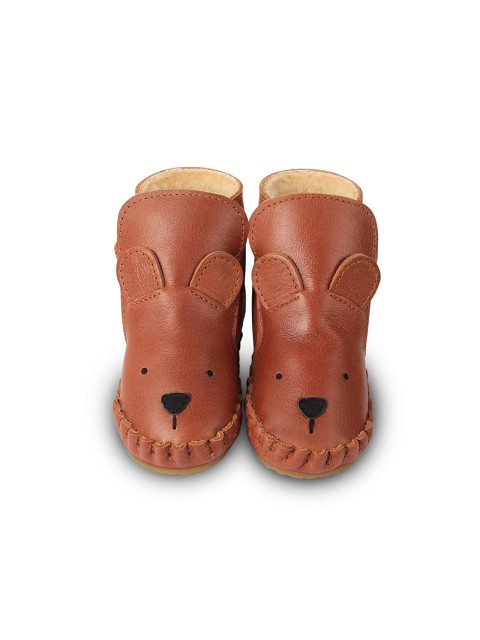 Bear leather boot