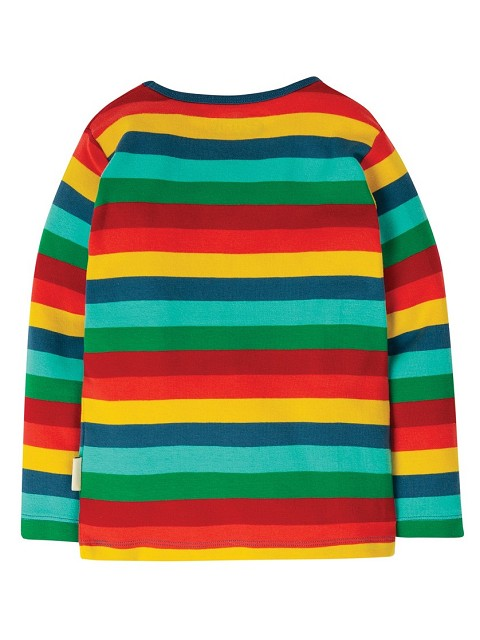 Striped organic cotton sweater